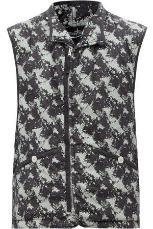 Stone Island Camouflage-print Padded-shell Gilet - Mens