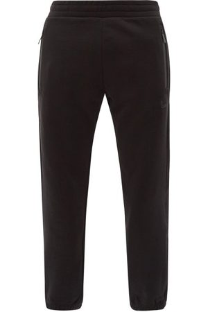 Moncler Men Sweatpants - Logo-patch Jersey Track Pants - Mens