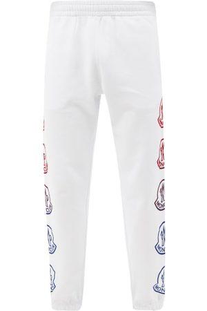 Moncler Men Sweatpants - Logo-print Cotton-jersey Track Pants - Mens
