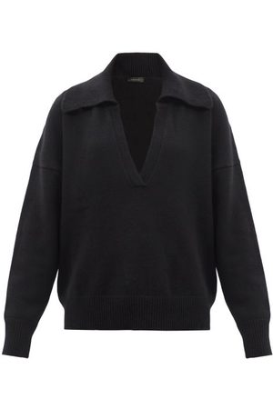 Made In Tomboy Musa Cashmere Polo Sweater - Womens