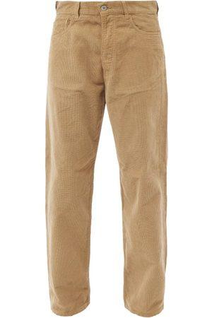 YMC Papa Straight-leg Cotton-corduroy Jeans - Mens