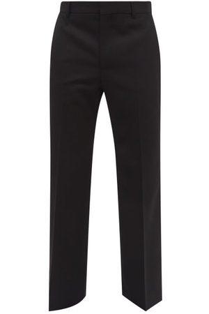 Walter Van Beirendonck Elephant High-rise Wool Wide-leg Trousers - Mens