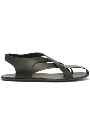 The Row Spider Leather Slingback Sandals - Womens