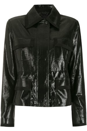 Andrea Bogosian Belted leather jacket