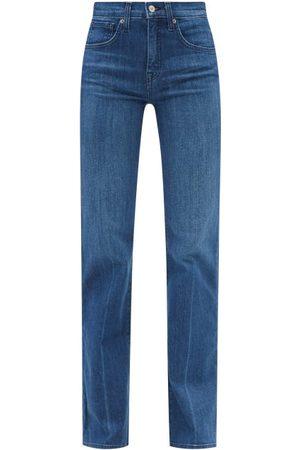 NILI LOTAN Women Bootcut - Celia Bootcut Jeans - Womens - Dark Denim