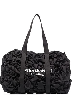 Alexander Wang Women Travel Bags - Rebound ruched-effect holdall bag