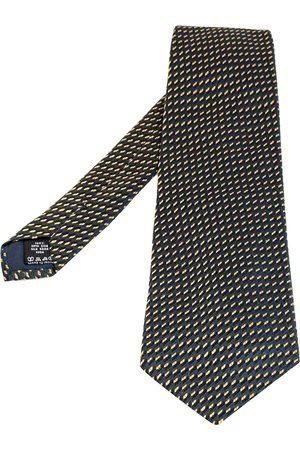 Valentino Dark Jacquard Silk Traditional Tie