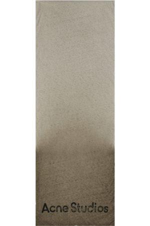 Acne Studios Men Scarves - Ombre padded scarf DUSTY U