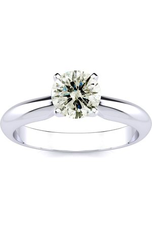 SuperJeweler 1.25 Carat Diamond Solitaire Engagement Ring in 14K (1.5 g) (