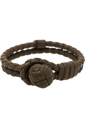 Bottega Veneta Men Bracelets - Military Intrecciato Leather Bracelet