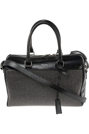 Saint Laurent Paris Saint Laurent Leather Duffel Bag
