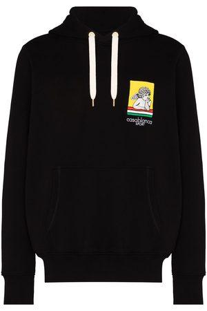 Casablanca Racing cherub hooded sweatshirt