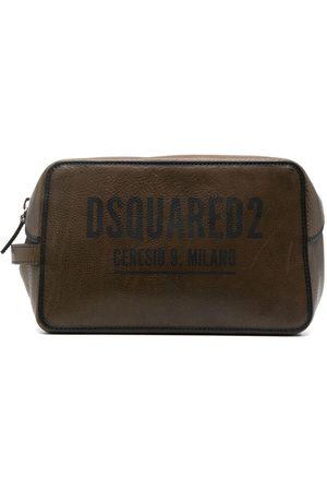 Dsquared2 Men Toiletry Bags - Logo-print washbag