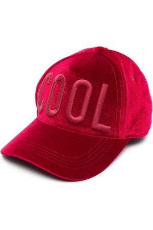 Dsquared2 Embroidered-slogan baseball cap