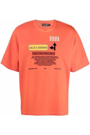 Dolce & Gabbana Men T-shirts - Logo-print T-shirt