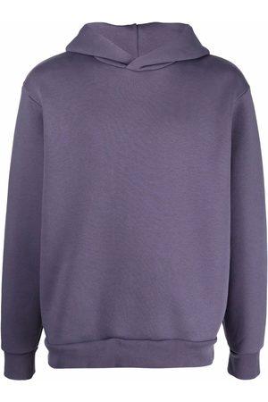 Acne Studios Men Hoodies - Drop-shoulder cotton-blend hoodie