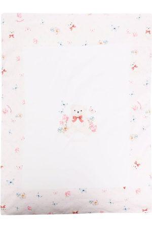 Monnalisa Teddy-bear print blanket