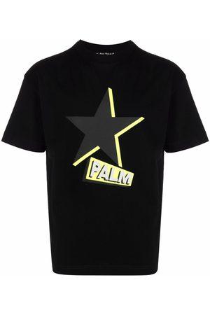Palm Angels Rockstar logo-print T-shirt