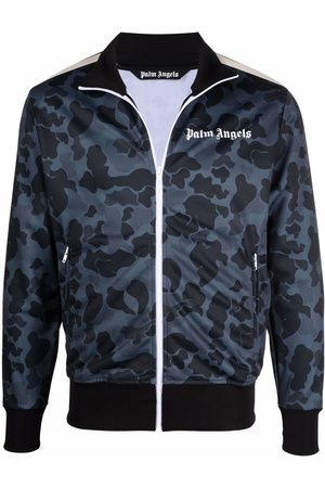 Palm Angels Camouflage-print track jacket