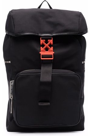 Off-White Arrows leather-trim backpack