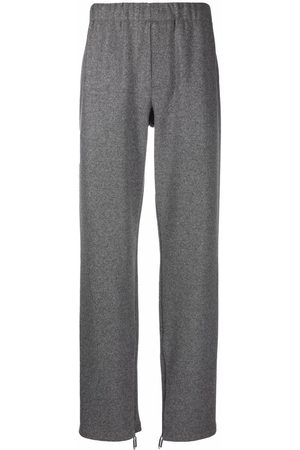 Off-White Ankle-zips track pants - Grey