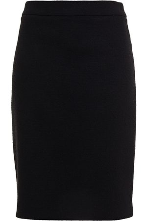 Moschino Woman Wool-blend Bouclé-tweed Pencil Skirt Size 38