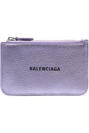 Balenciaga Logo-print cardholder