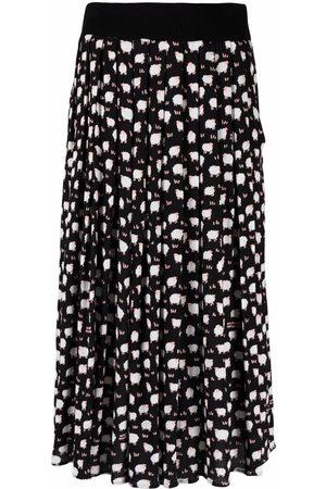 Boutique Moschino Sheep-print skirt