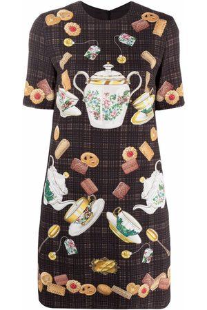 Moschino Tea Time-print T-shirt dress