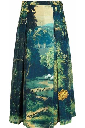 Boutique Moschino Chic Heritage pleated skirt