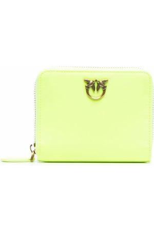 Pinko Women Wallets - Neon leather purse