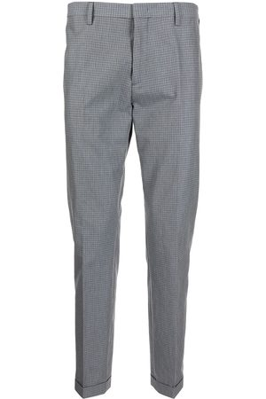 Paul Smith Plaid-check tailored trousers - Grey