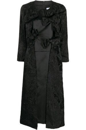 Comme Des Garçons Comme Des Garçons Bow-detail asymmetric dress
