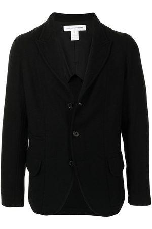 Comme Des Garçons Shirt Men Blazers - Single-breasted wool blazer