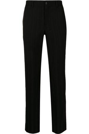 Comme Des Garçons Homme Plus Tailored striped wool trousers
