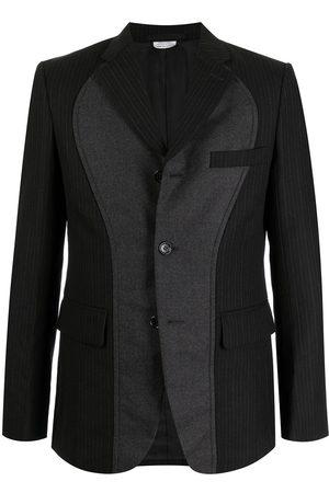 Comme Des Garçons Homme Deux Panelled single-breasted blazer