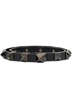 Valentino Garavani Roman Stud 18mm leather belt