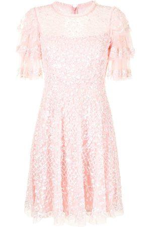 Needle & Thread Seren sequin-embellished dress