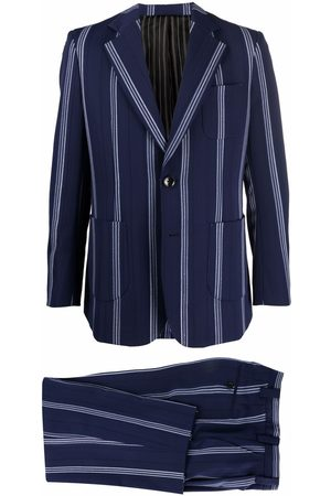 Viktor & Rolf Take A trip With Me striped single-breasted suit