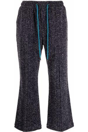 Viktor & Rolf Men Sweatpants - Cropped drawstring trousers