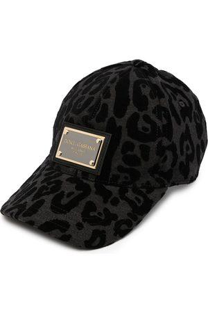 Dolce & Gabbana Logo-plaque baseball cap - Grey