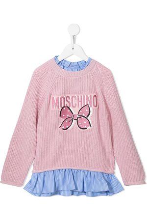 Moschino Kids Logo-print jumper dress