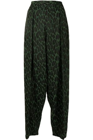 Toga Pulla Patterned straight-leg trousers