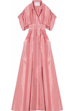 Carolina Herrera V-neck gown