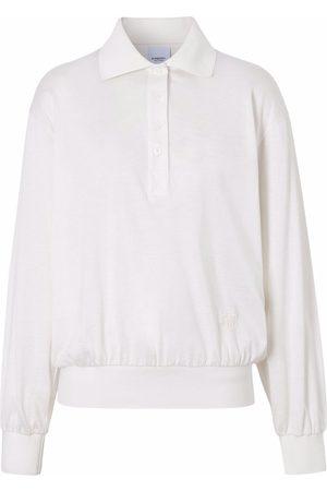 Burberry Long-sleeve polo shirt - Neutrals