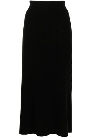 Cashmere In Love River A-line cashmere skirt