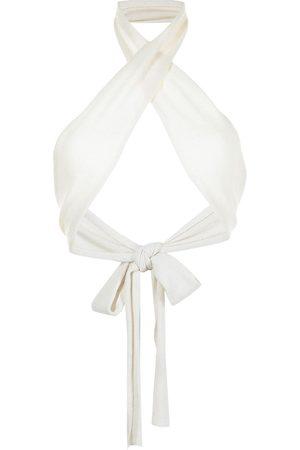 Cashmere In Love Rio cashmere-wrap bralette top
