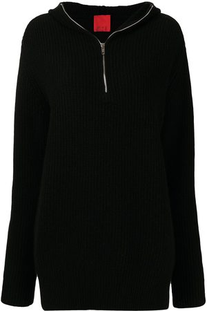 Cashmere In Love Nara zipped cashmere-knit hoodie