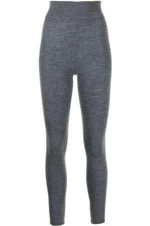Cashmere In Love Tonya cashmere-knit leggings - Grey