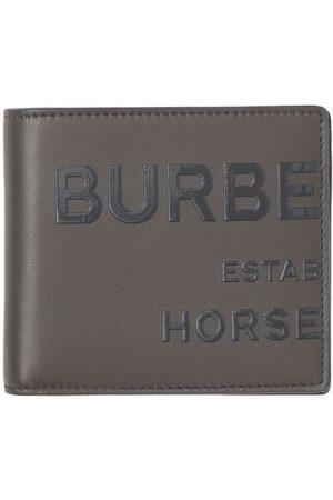 Burberry Horseferry print Internation bi-fold wallet - Grey